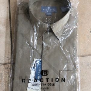 """Kenneth Cole reaction mens dress shirt 16.5"""" new"""